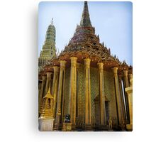 The Grand Palace, Bangkok - Phra Mondop, the library temple Canvas Print