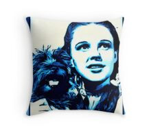 Judy Garland Wizard of Oz Dorothy Throw Pillow