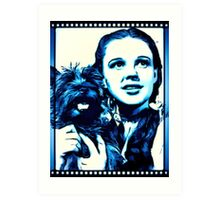 Judy Garland Wizard of Oz Dorothy Art Print