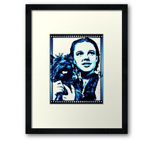 Judy Garland Wizard of Oz Dorothy Framed Print