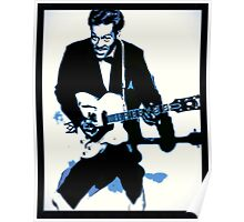 Chuck Berry Rock n Roll Poster