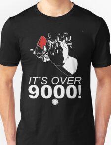 DragonBall Z Over 9000  Goku Training To Go Super Saiyan It's Over 9000 Train  T-Shirt