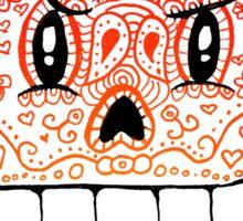 Papyrus Sugar Skull Undertale #1 Sticker