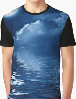 Blue Moon Graphic T-Shirt