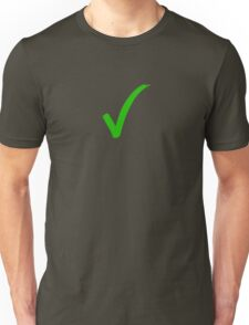 brush stroke tick Unisex T-Shirt