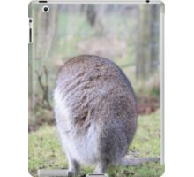 Funny Wallaby Fur Ball iPad Case/Skin