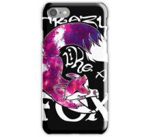 Crazy Like A Fox - Purple Galaxy iPhone Case/Skin