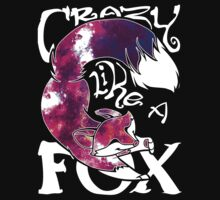 Crazy Like A Fox - Purple Galaxy by Zhivago