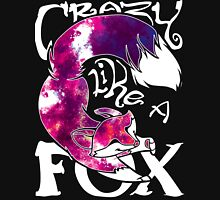 Crazy Like A Fox - Purple Galaxy Unisex T-Shirt