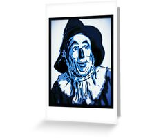 Wizard of Oz Scarecrow Greeting Card