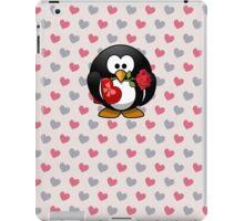 Cute Valentine Penguin iPad Case/Skin