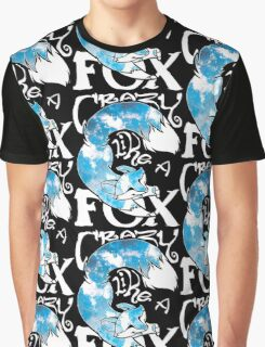 Crazy Like A Fox - Blue Rapids Graphic T-Shirt