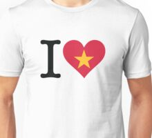 I Love Vietnam Unisex T-Shirt