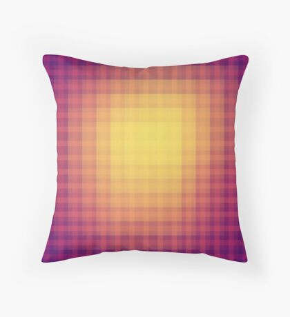 abstract square pattern Throw Pillow
