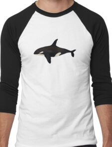 Killer whale Men's Baseball ¾ T-Shirt