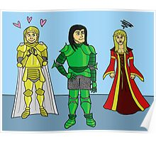 Knightly Infatuation Poster
