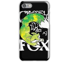 Crazy Like A Fox - Acidsplash iPhone Case/Skin