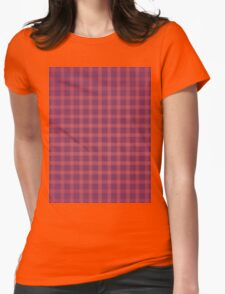 abstract square pattern Womens Fitted T-Shirt