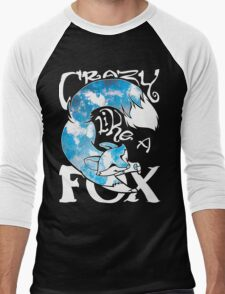 Crazy Like A Fox - Blue Rapids Men's Baseball ¾ T-Shirt