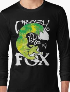 Crazy Like A Fox - Acidsplash Long Sleeve T-Shirt