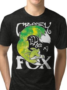 Crazy Like A Fox - Acidsplash Tri-blend T-Shirt