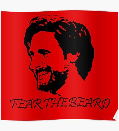 Joe Allen - Fear the Beard - Stoke City Poster