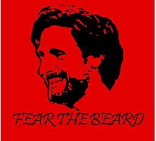 Joe Allen - LFC - Liverpool FC - Fear the Beard Photographic Print