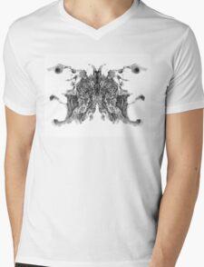 Cosmic Inkblot Mens V-Neck T-Shirt