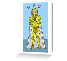 Jaime in Love Greeting Card
