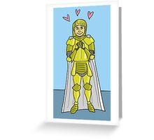 Jaime in Love Greeting Card