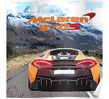 McLaren 570S Poster