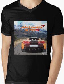 McLaren 570S Mens V-Neck T-Shirt