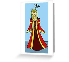 Pissed Cersei Greeting Card