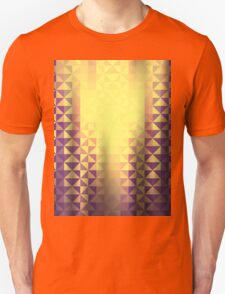 abstract triangle pattern Unisex T-Shirt
