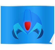 Megaman Helmet Poster