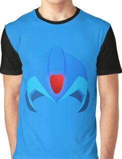 Megaman Helmet Graphic T-Shirt