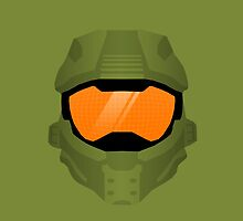 Master Chief Helmet by Lazard