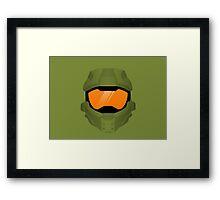 Master Chief Helmet Framed Print