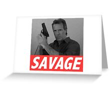 Derek Savage Greeting Card