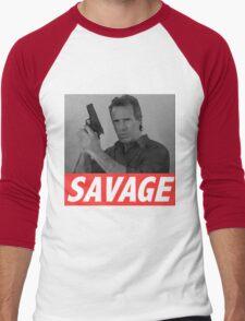 Derek Savage Men's Baseball ¾ T-Shirt