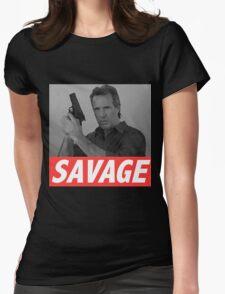 Derek Savage Womens Fitted T-Shirt
