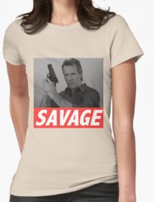 Derek Savage Womens Fitted T-Shirt