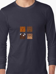 Squared dogs T-Shirt