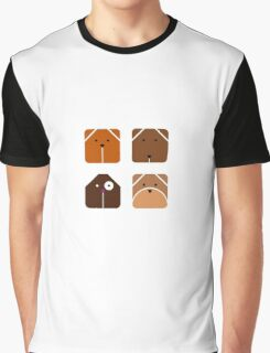 Squared dogs Graphic T-Shirt