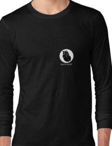 Black heart Long Sleeve T-Shirt