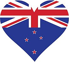 A heart for New Zealand Photographic Print