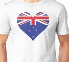 A heart for New Zealand Unisex T-Shirt