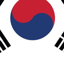 National flag of South Korea Sticker