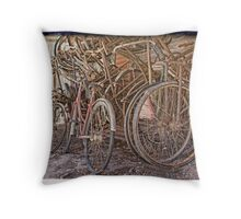 Any Tandems? Throw Pillow