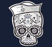 Marinero muerto sugar skull One Piece - Long Sleeve